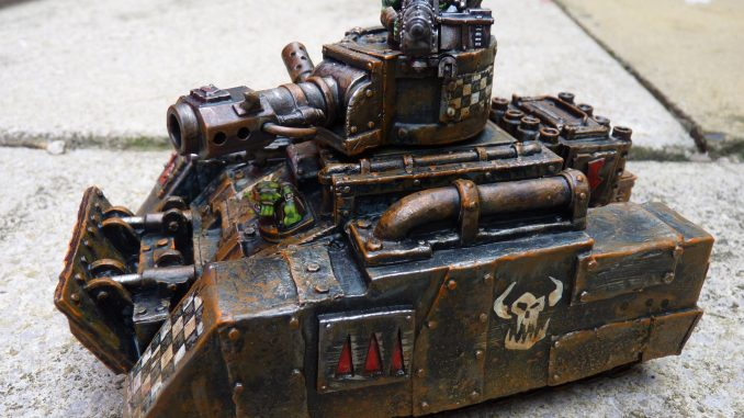 Ramshakle Games Scrap Tank model customer photo