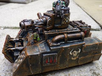 Ramshakle Games Scrap Tank model customer photo