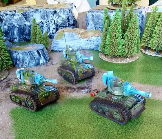 vole light tank models